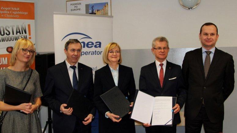 Szkoła Hipolita współpracuje z firmą Enea