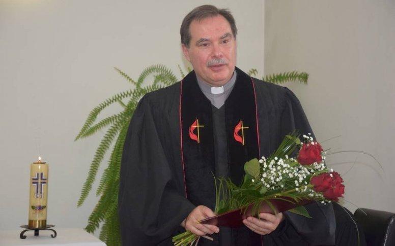 Pożegnanie pastora Parafii Kościoła Ewangelicko-Metodystycznego Ks. sup. Sławomira Rodaszyńskiego