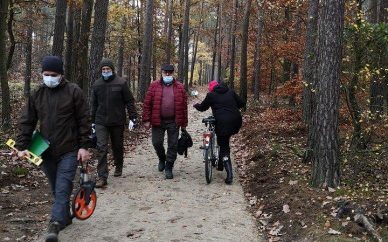 Ścieżka czeka na rowerzystów