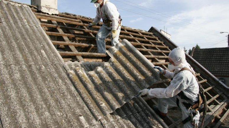 Azbest już usunięty